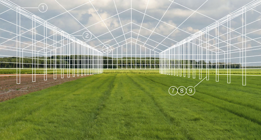 Commercial Greenhouse Schematic