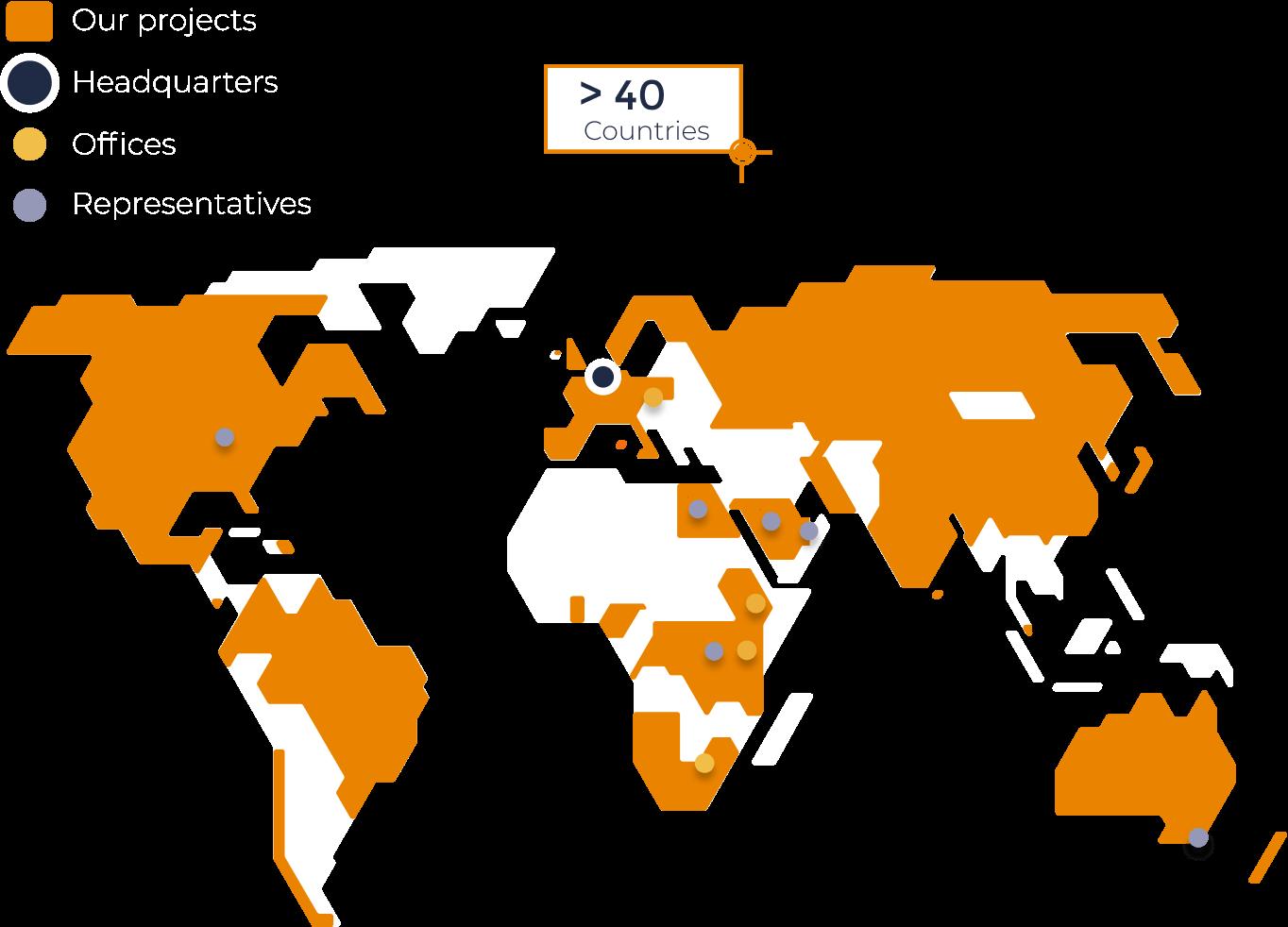 Bosman Van Zaal Global Footprint