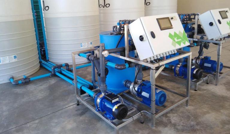 Greenhouse Irrigation - Bosman Van Zaal South Africa